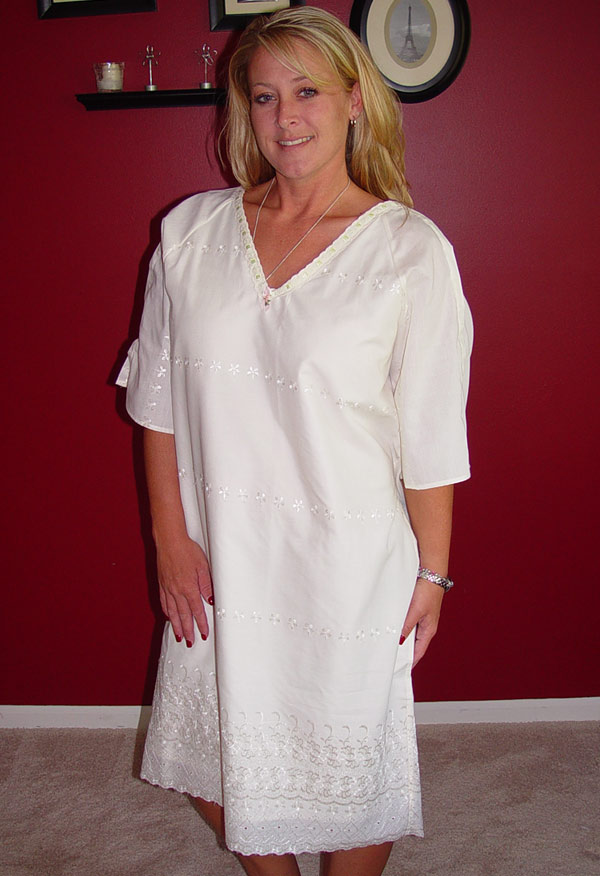 Cancer Fundraising Products. CUSTOM MADE HOSPITAL GOWN/ROBE